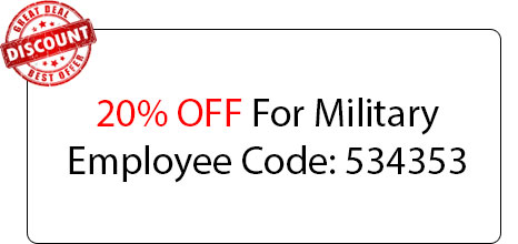 Military Employee 20% OFF - Locksmith at Garden City, NY - Garden City NYC Locksmith